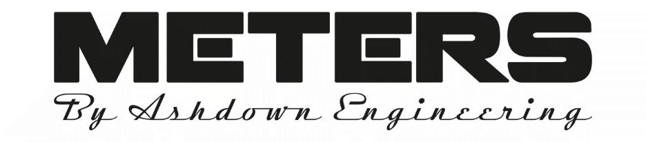 METERS, By Ashdown Engineering